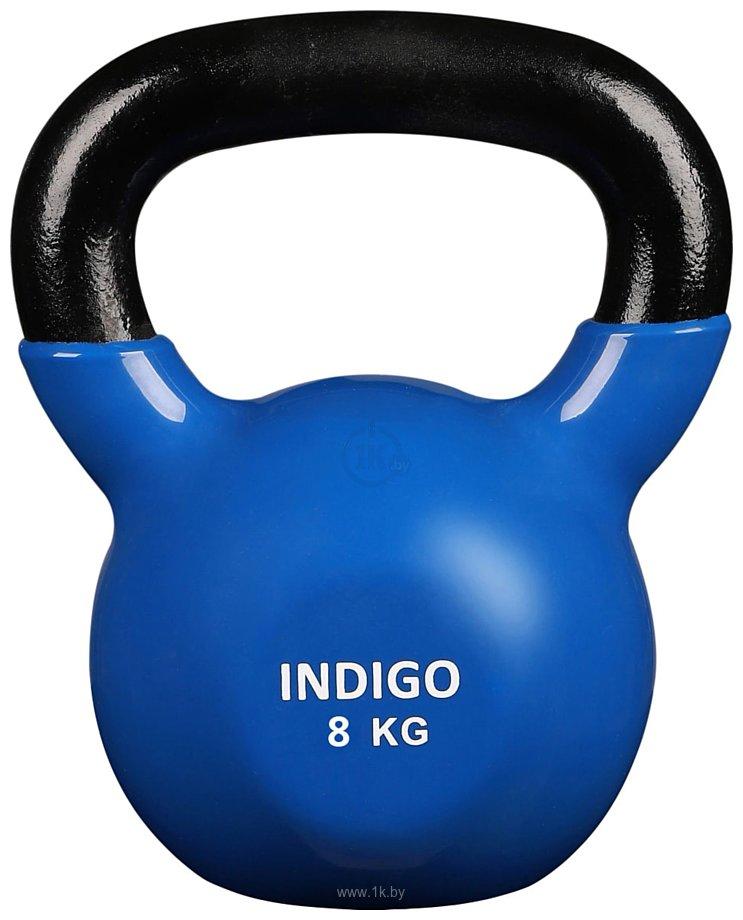 Фотографии Indigo IN132 8 кг (черный/синий)