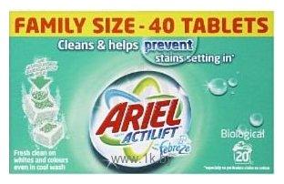 Фотографии Ariel Actilift Febreze Effect Tablets 56шт.