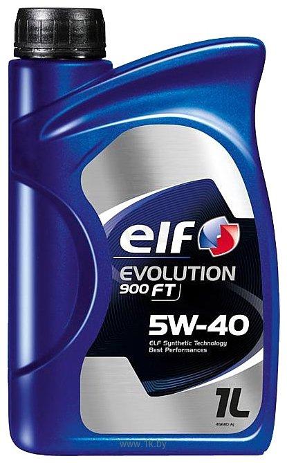 Фотографии Elf Evolution 900 FT 5W-40 1л