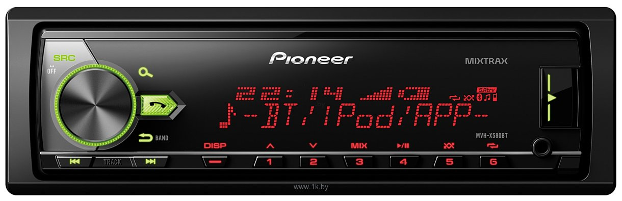 Фотографии Pioneer MVH-X580BT