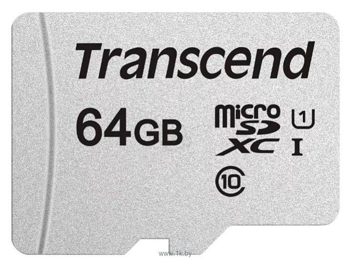 Фотографии Transcend TS64GUSD300S-A