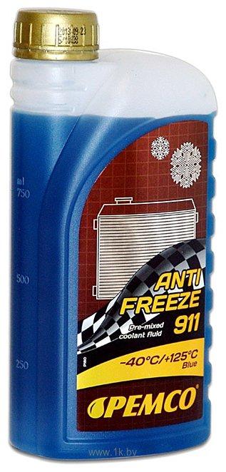 Фотографии Pemco Antifreeze 911 (-40) 1л