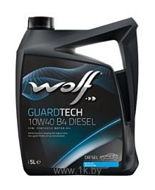 Фотографии Wolf Guard Tech 10W-40 B4 Diesel 5л
