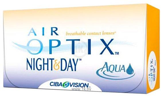 Фотографии Ciba Vision Air Optix Night & Day Aqua +1.5 дптр 8.6 mm