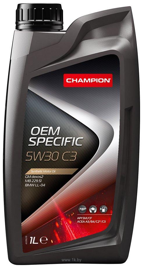Фотографии Champion OEM Specific C3 5W-30 1л