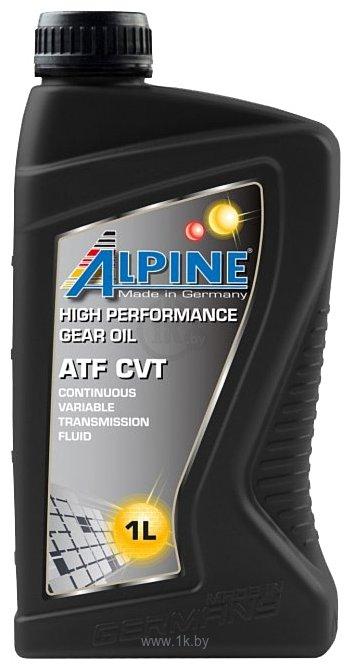 Фотографии Alpine ATF CVT 1л