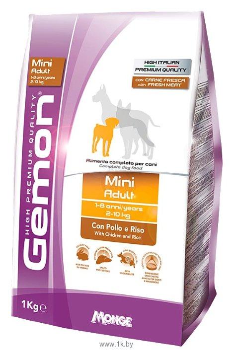 Фотографии Gemon Dog Mini Adult с курицей и рисом (1 кг)