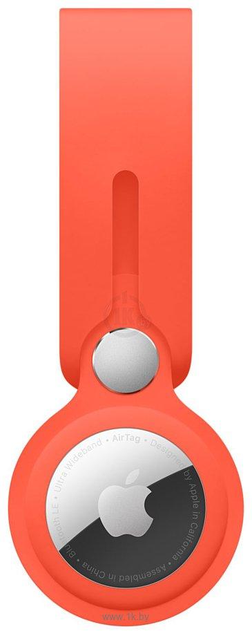 Фотографии Apple с подвеской для AirTag (солнечный апельсин) MK0X3