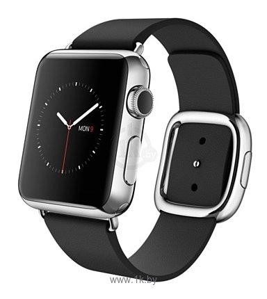 Фотографии Apple Watch 38mm Stainless Steel with Black Modern Buckle (MJYL2)