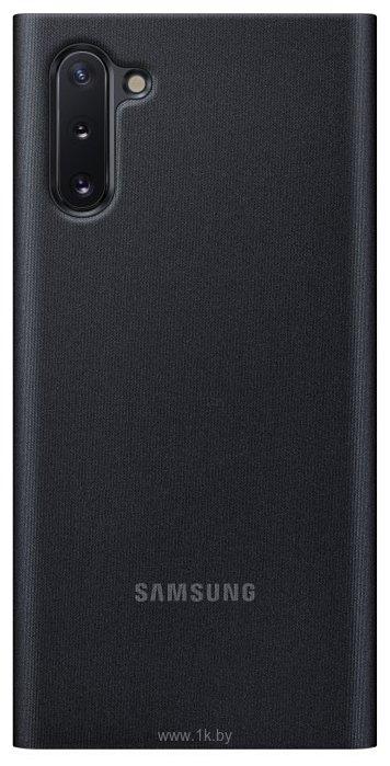 Фотографии Samsung Clear View Cover для Samsung Galaxy Note10 (черный)