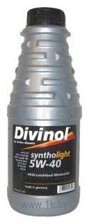 Фотографии Divinol Syntholight 5W-40 1л