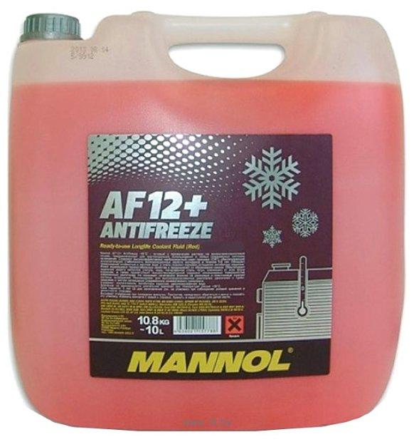 Фотографии Mannol Antifreeze AF12+ 10л