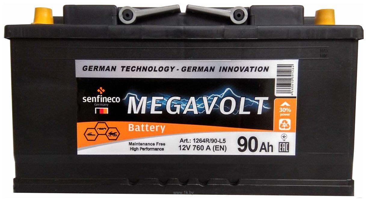 Фотографии Megavolt 12V +R (90Ah)