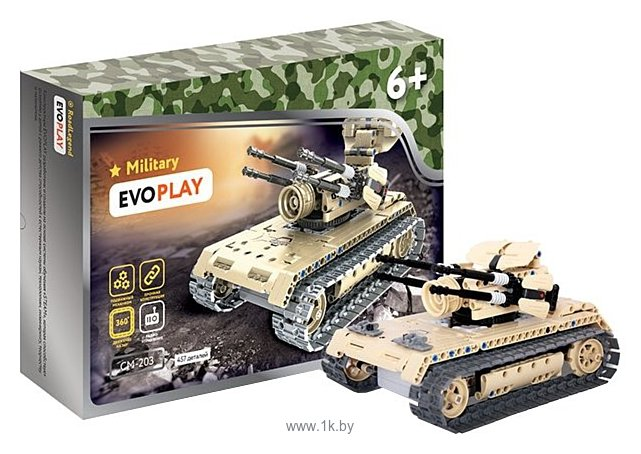 Фотографии EvoPlay Military CM-203 Anti Aircraft Tank