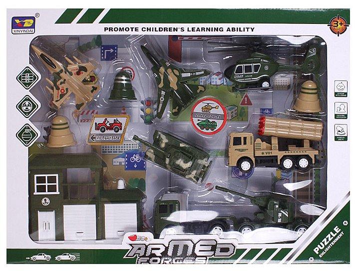 Фотографии Darvish Игровой набор Armed forces 13 предметов DV-T-2333B