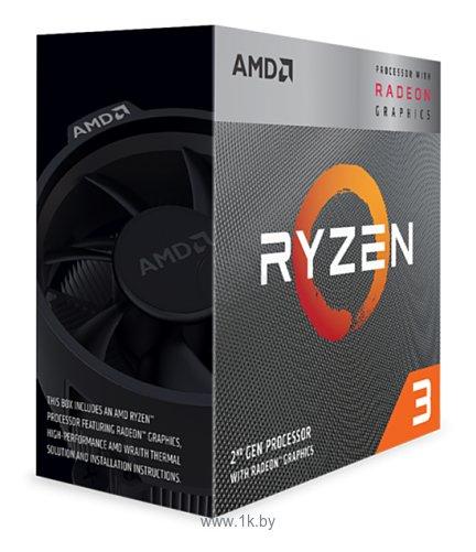 Фотографии AMD Ryzen 3 3200G Picasso (AM4, L3 4096Kb)