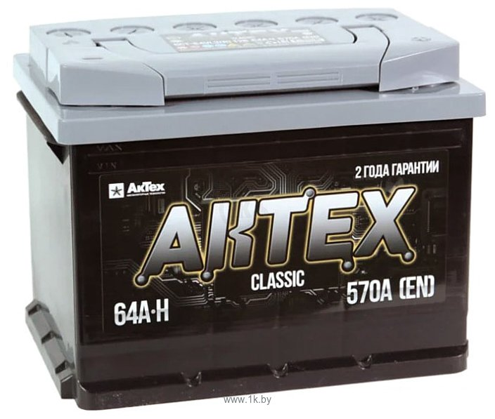 Фотографии АкТех Classic 6СТ-64 LЗ (64Ah)