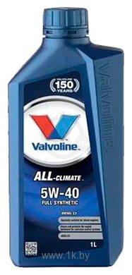 Фотографии Valvoline All-Climate 5W-40 1л