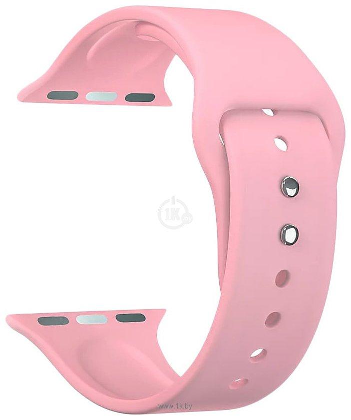 Фотографии Lyambda Altair для Apple Watch 38-40 мм (S/M и M/L, розовый)