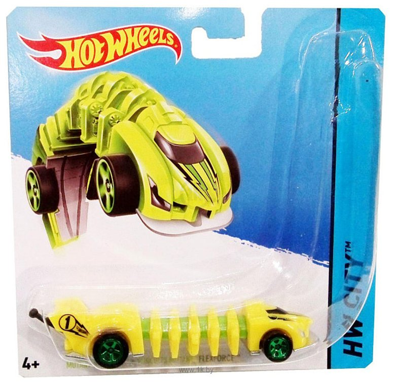 Фотографии Hot Wheels Мутанты Flexforce BBY78