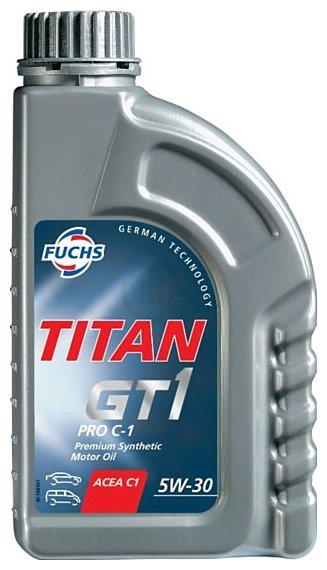 Фотографии Fuchs Titan GT1 Pro C-1 5W-30 1л