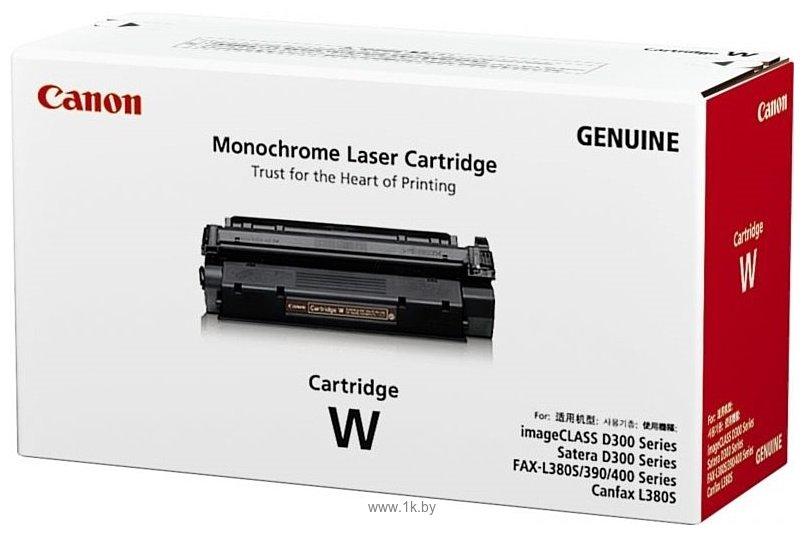 Фотографии Аналог Canon Cartridge W
