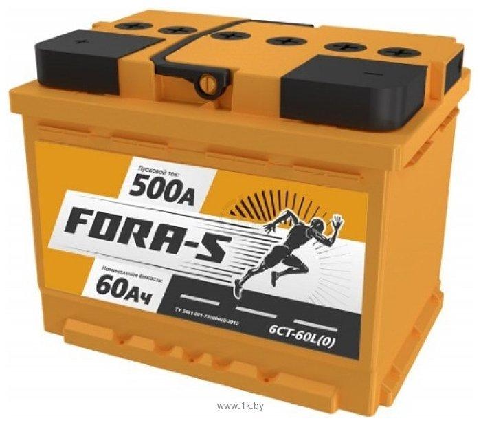 Фотографии Fora-S 60 L (60Ah)