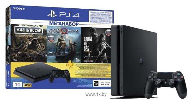Фотографии Sony PlayStation 4 Slim 1TB + DG/GOW/TLOU
