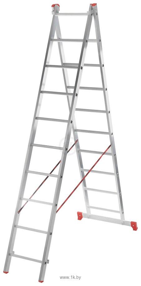 Фотографии Новая высота NV 222  двухсекционная 2x8 ступеней