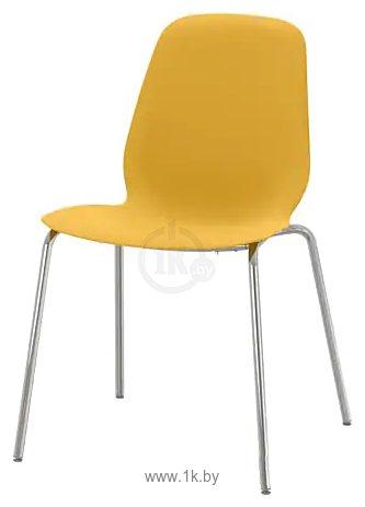 Фотографии Ikea Лейф-Арне (темно-желтый/брур-инге хромированный) 993.042.05