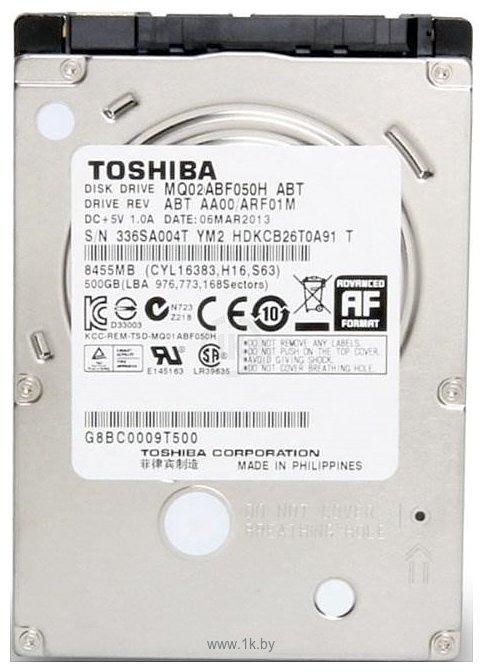 Фотографии Toshiba MQ02ABF050H