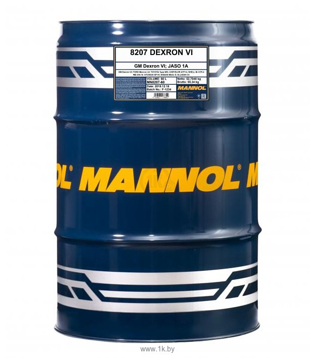 Фотографии Mannol Dexron VI 60л