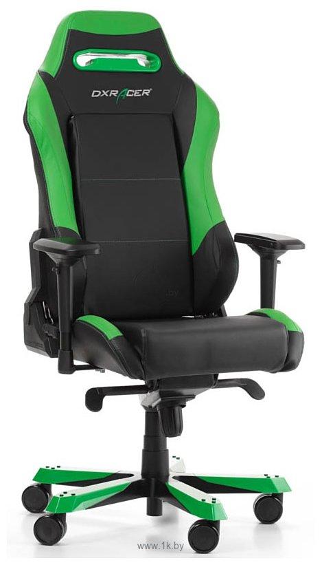 Фотографии DXRacer Iron OH/IS11/NE (черный/зеленый)