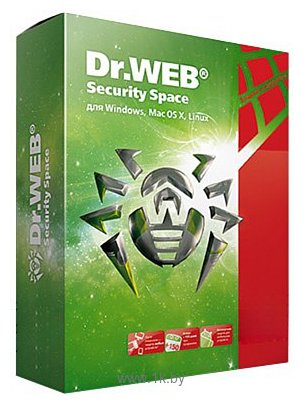 Фотографии Dr.Web Security Space (2 ПК, 2 года) электронная лицензия