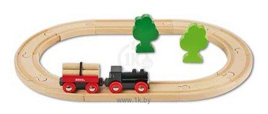 """Фотографии Brio Стартовый набор """"Железная дорога с грузовым поездом"""" 33042"""