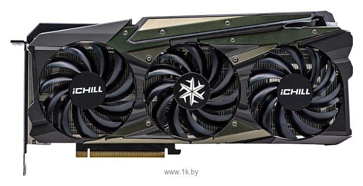 Фотографии INNO3D GeForce RTX 3070 iCHILL X4 8GB (C30704-08D6X-1710VA35)