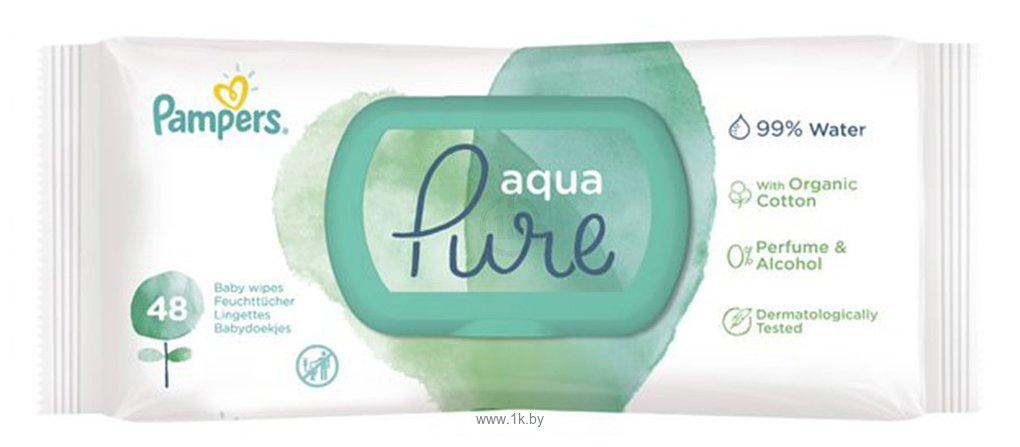 Фотографии Pampers Aqua Pure (48шт)