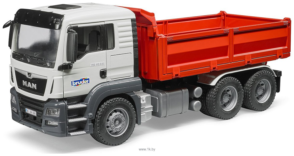 Фотографии Bruder MAN TGS Construction truck 03765