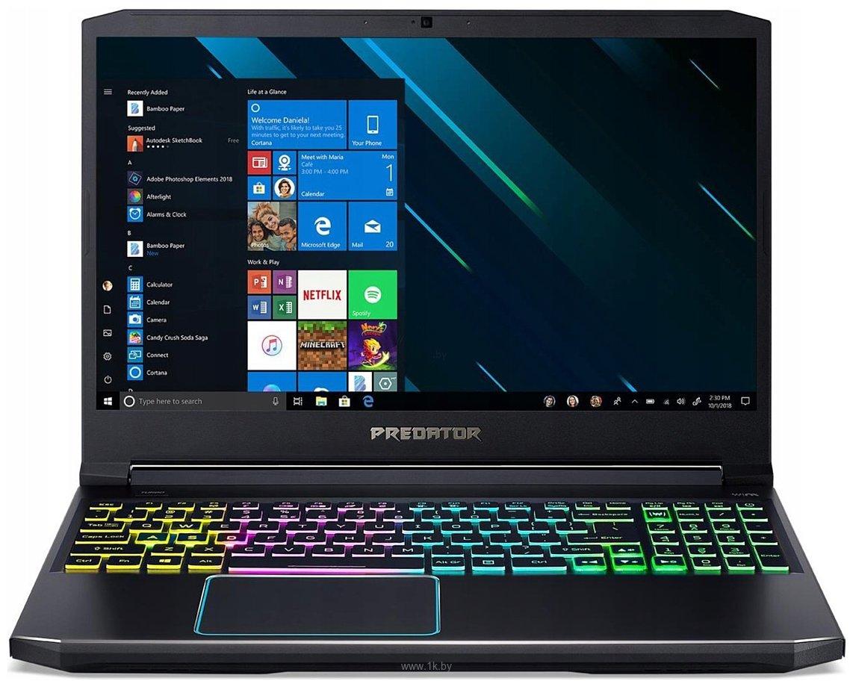 Фотографии Acer Predator Helios 300 PH315-52-54YU (NH.Q53ER.01A)