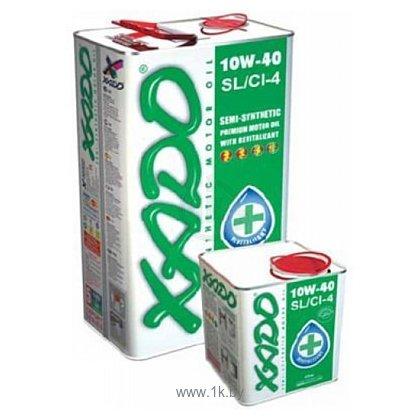 Фотографии Xado Atomic Oil 10W-40 SL/CI-4 5л