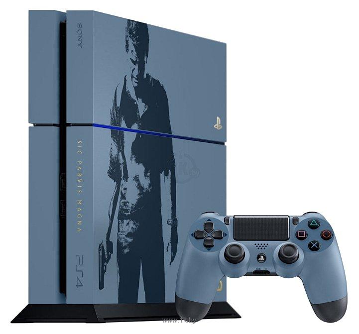 Фотографии Sony PlayStation 4 1 ТБ Uncharted 4: Путь вора