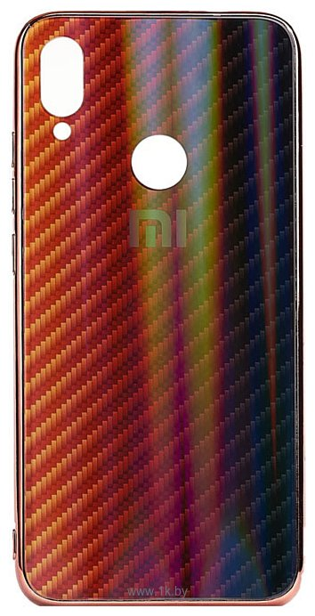Фотографии EXPERTS Aurora Glass для Xiaomi Redmi Note 7 с LOGO (красно-черный)