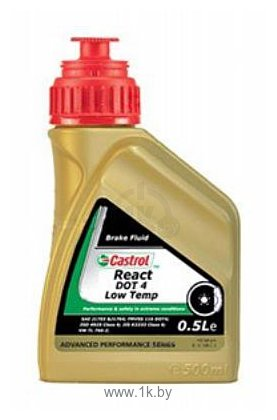 Фотографии Castrol React DOT 4 Low Temp 0.5л