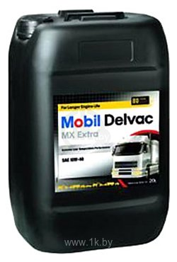 Фотографии Mobil Delvac MX Extra 10W-40 20л