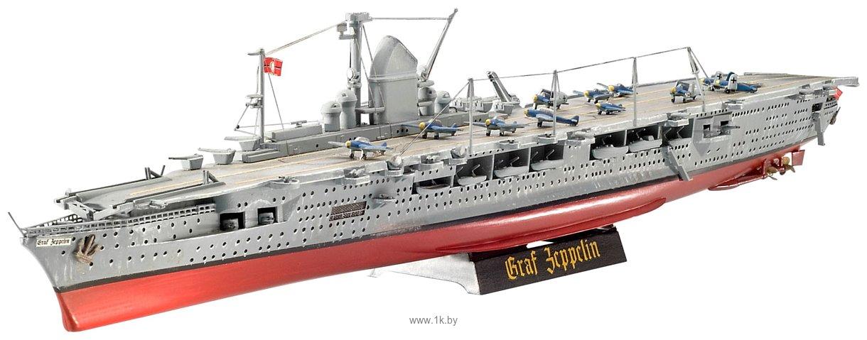 Фотографии Revell 05164 Немецкий авианосец GRAF ZEPPELIN