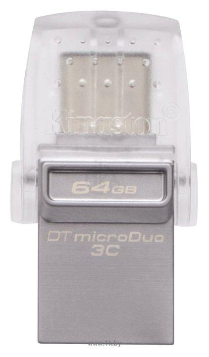 Фотографии Kingston DataTraveler microDuo 3C 64GB (DTDUO3C/64GB)