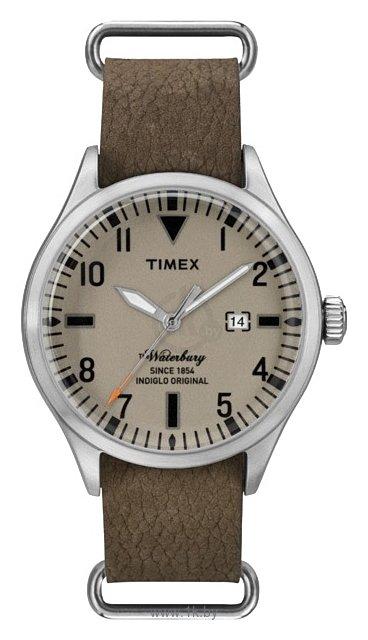 Часы наручные женские Timex, цвет: черный, золотой, белый. . T2P371