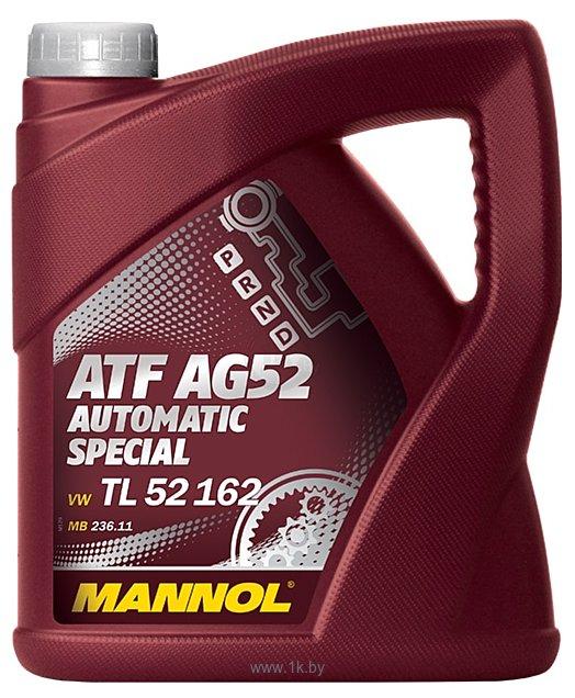 Фотографии Mannol ATF AG52 Automatic Special 4л
