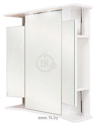 Фотографии Onika Шкаф с зеркалом Валерия 65.02 (белый) (206505)
