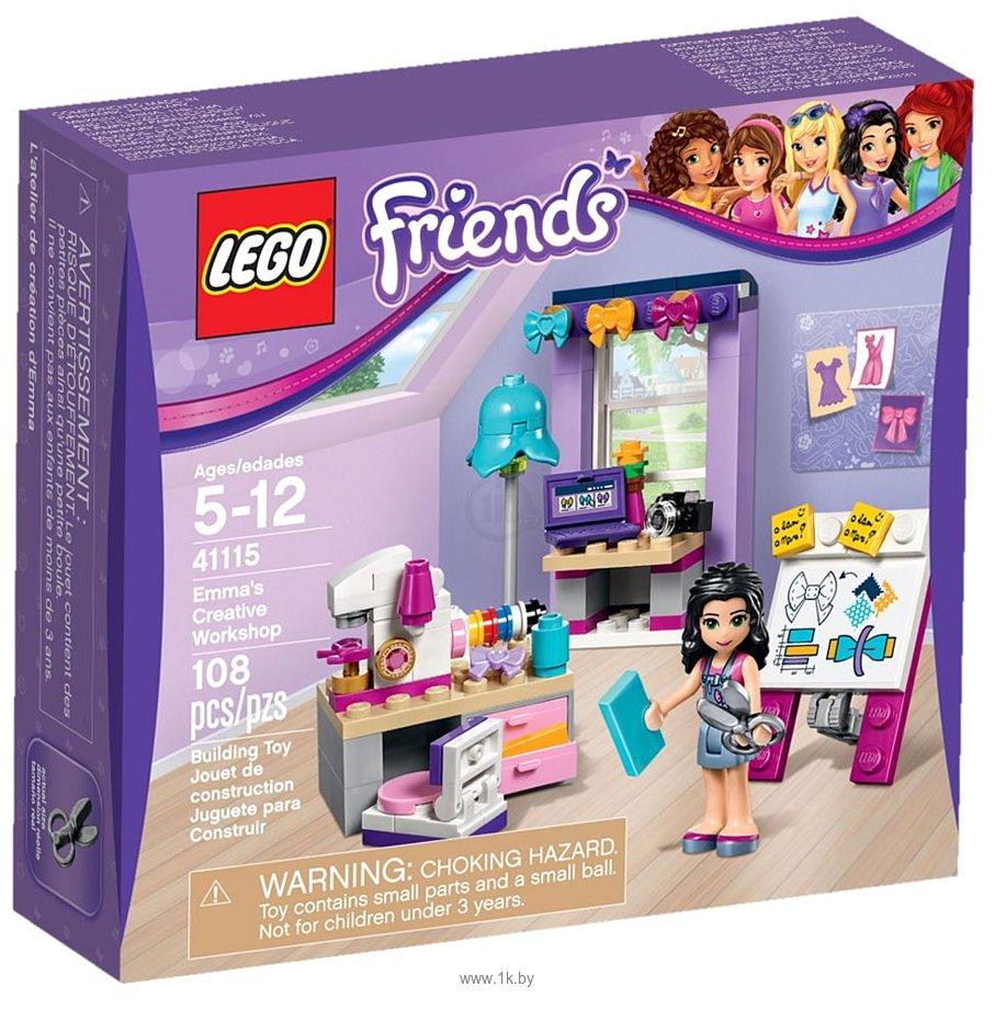 Фотографии LEGO Friends 41115 Творческая мастерская Эммы